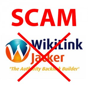 Wikilink Jacker Is A Scam
